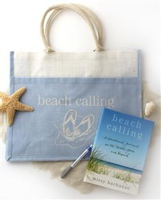 Beach Calling Book, Bag, and Pen