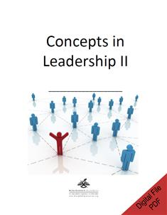 Concepts in Leadership II