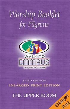 Emmaus Worship Booklet Enlarged Print Single