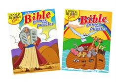 Upper Room Kids Bible Games/Puzzles Set