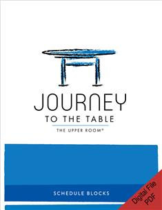 Journey to the Table Schedule Blocks
